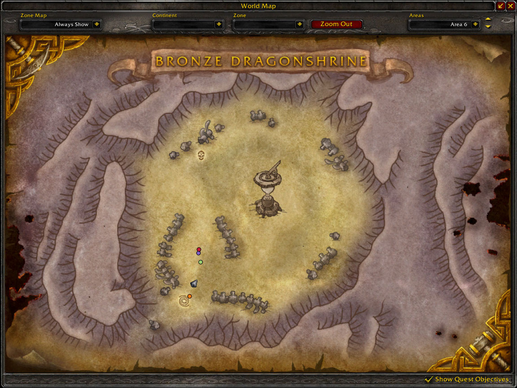 wow map caverns of time